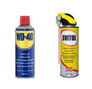 Lubrificanti-sbloccanti spray
